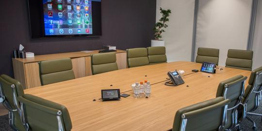 conference room av